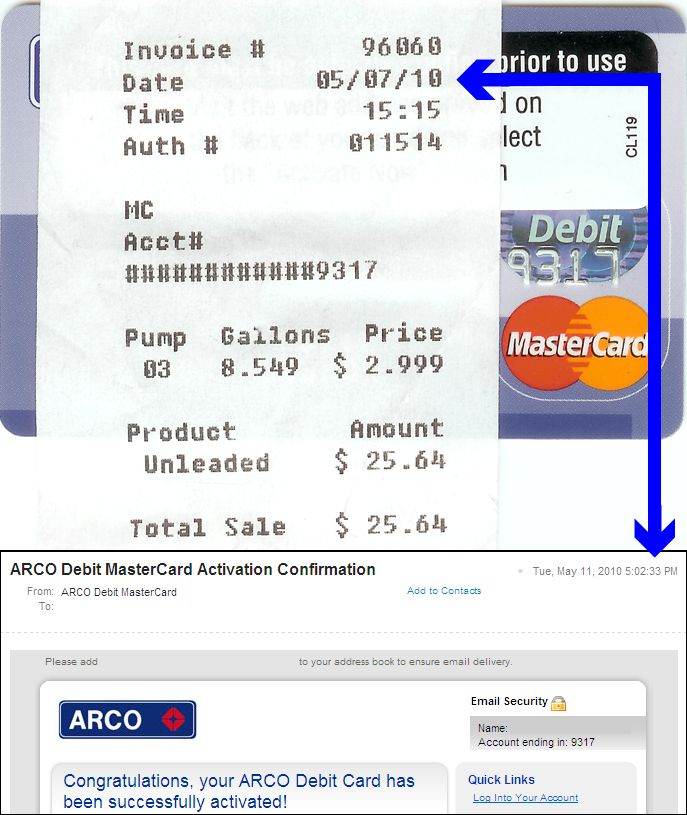 What Is Commercial Invoice Hsbc Sends Activated Debit Cards Through Mail Dealer Invoice By Vin Word with Invoice And Bill Combo Photo Shows A Credit Card Receipt Dated May  And An Email Dated Receipts Organizer Word