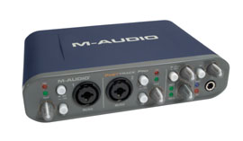 Photo of the M-Audio Fast Track Pro.