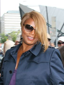 Photo of Queen Latifah at the 2008 Toronto International Film Festival.